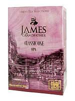 """Чай чёрный листовой James Grandfather """"OPA"""", 100 гр. карт."""