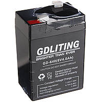 Аккумулятор батарея GDLITE 6V 4Ah GD-640