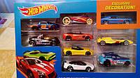Набір машинок Хот Вілс 9 шт в ассорт (Hot Wheels 9-Car Gift Pack ), фото 1
