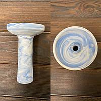 Чаша для кальяну ФОРМА - Phunnel Цунамі (блакитна)