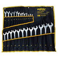Набор ключей комбинированных 6-32 мм 25шт (чехол) sigma 6010141, набор рожково-накидных ключей гаечных