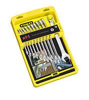 Набор рожково-накидных ключей удлиненных 11ед (7-17 мм) STANLEY 4-94-647, набор гаечных ключей комбинированных