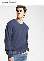 Пуловер мужской синий Gap XL original Реглан мужской Gap