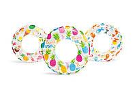 Круг надувной Интекс 61 см Яркий 3 вида 59241