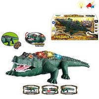 Интерактивная детская игрушка Крокодил на радиоуправлении 40 см со световыми и звуковыми эффектами на пульте