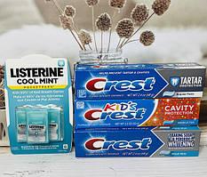 CREST Зубные пасты, системы отбеливания и Listerine