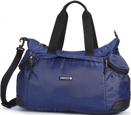 Вместительная спортивная сумка из болоньевой прочной ткани Dolly (Долли) 930 синий