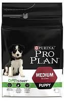 Pro Plan Puppy Medium корм для щенков с курицей