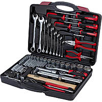 """Комбинированный набор инструментов 1/4"""" 1/2"""" 80 шт ULTRA Sigma 6003112, набор инструмента для авто"""