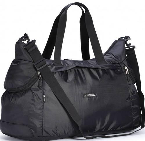 Функциональная спортивная сумка из болоньевой прочной ткани Dolly (Долли) 931 черный