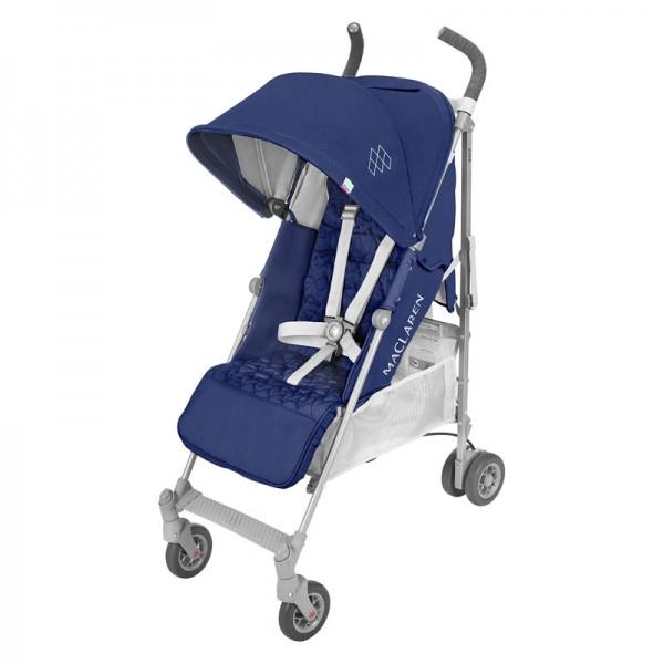 Maclaren Quest коляска-трость, цвет Medieval Blue/Silver