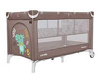 Кроватка-манеж Carrello Piccolo+ CRL-9201/1, цвет Chocolate Brown