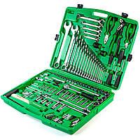 Якісний набір інструментів для авто 130 од. - ТОП-набір від TOPTUL (GCAI130T), набір інструмента в гараж, фото 1