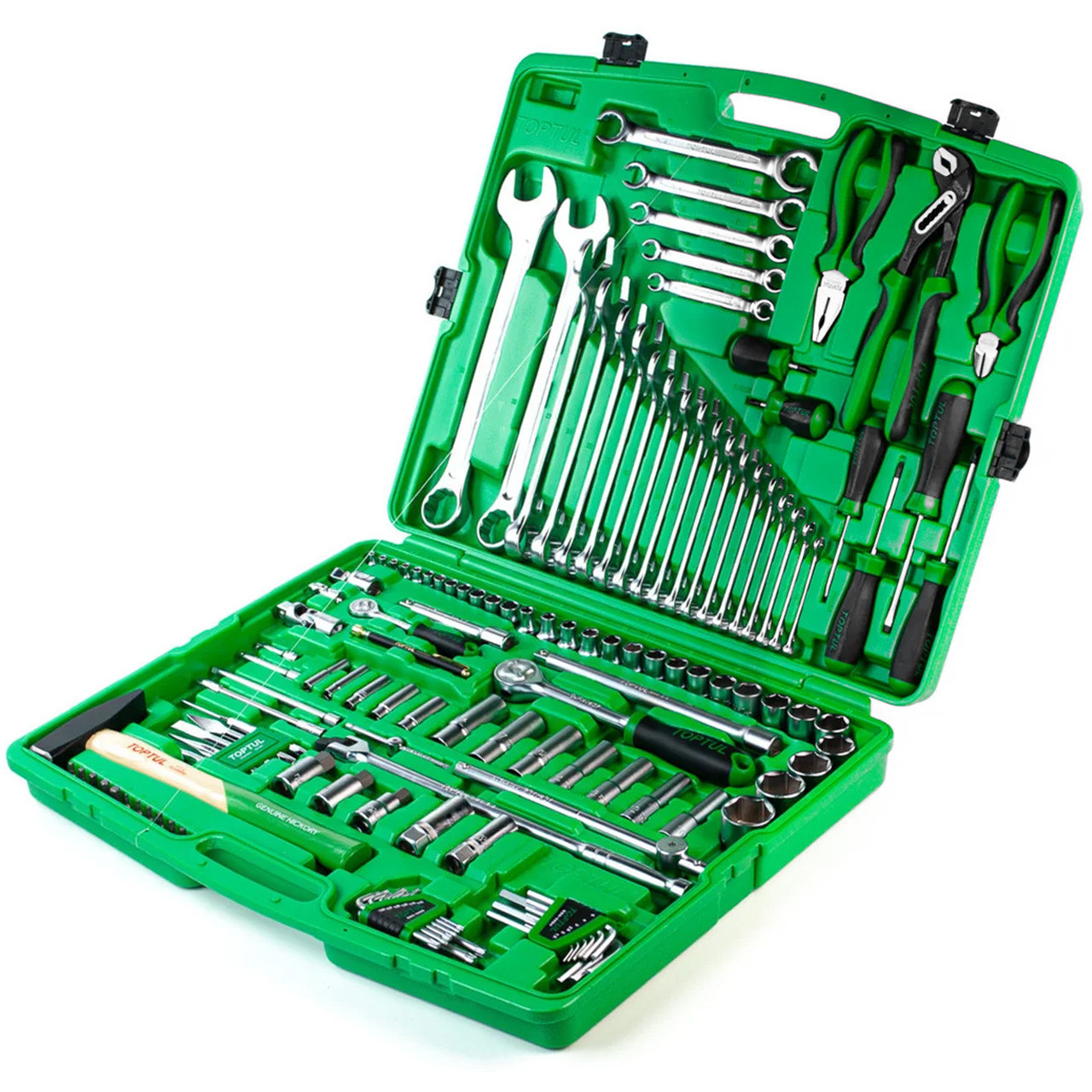 Якісний набір інструментів для авто 130 од. - ТОП-набір від TOPTUL (GCAI130T), набір інструмента в гараж