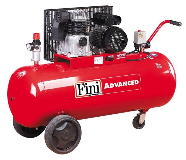 Поршневой компрессор 365л/мин, 150л Fini MK103-150-3(400/50) ADVANCED