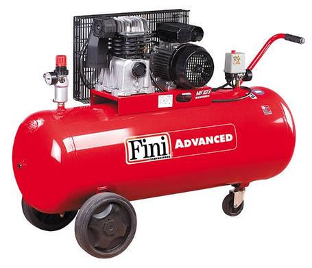 Поршневой компрессор 365л/мин, 150л Fini MK103-150-3(400/50) ADVANCED, фото 2