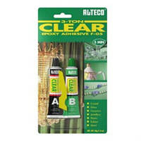 Эпоксидний клей  ALTECO 3 TON CLEAR (прозрачный) 20 гр.