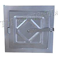 Дверцята пічні на сажу із защібкою (нефарбовані)