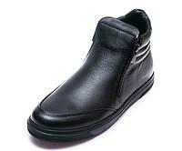 Ботинки д/с OCAK 109(26)чёрная кожа (31-36) 36