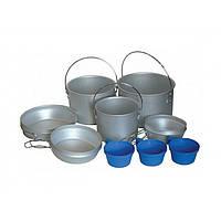 Комплект посуды из алюминия Tramp TRC-002