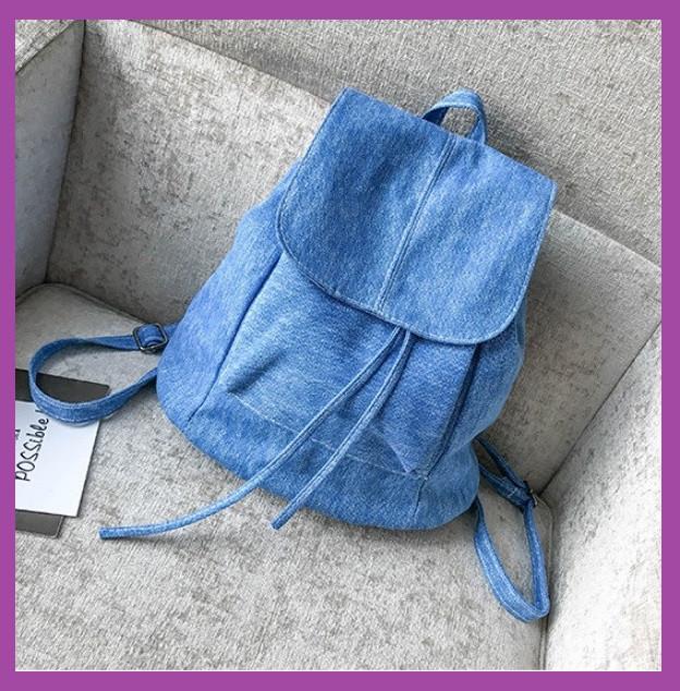 Женский рюкзак городской, Женский рюкзачок голубой, Модный женский рюкзак, Рюкзак женский для прогулок