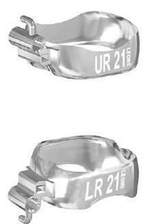Бандажні кільця Calibra із замками, нагору право UR