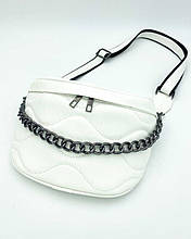 Женская сумка «Пеги» белая Welassie