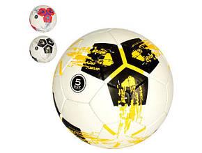 М'яч футбольний розмір 5, ПУ 1,4 мм, 32 панелі, ручна робота, 400-420гр., в кул. 2500-158 (30)