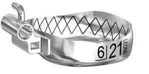 Бандажные кольца Wев с замкими, верх право UR