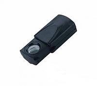 Лупа MG21009 выдвижная с LED подсветкой 20X