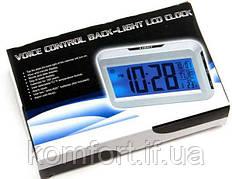 Настільні електронні годинник, термометр, календар КК 2616