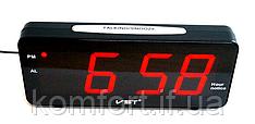 Часы электронные настольные VST 763T-1 (красное табло)