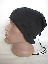 Зимний бафф с начёсом, теплый шарф-труба или шапка (#525) двухслойный, фото 3