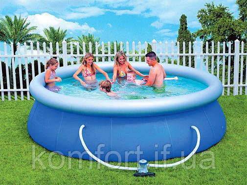 Надувний басейн Bestway 57263 з фільтр-насосом, фото 2