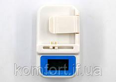 Зарядное универсальное для всех телефонов Жабка Краб с дисплеем и USB и прикуривателем