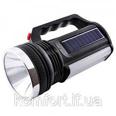 Ліхтар + лампа акумуляторний від мережі і від сонця