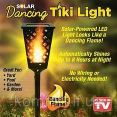 Вуличний ліхтар на сонячної панелі Tiki Light