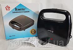 Електрична сендвичница Domotec MS-7777, бутербродниця з антипригарним покриттям 750 ВТ