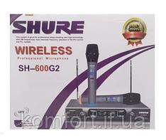 Радиосистема Shure SH-600G2+ 2 микрофона