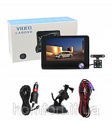 Автомобильный видеорегистратор c 3-мя ĸaмepaми и 4-дюймoвым эĸpaнoм  Full HD  L319B