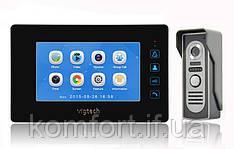 Домофон Intercom WJ726RC8 Цветной Видеозвонок с картой памяти