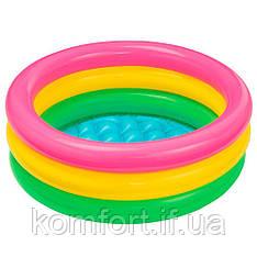 Дитячий надувний басейн Intex 57107 61х22 см