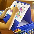 Детский набор для творчества и рисования 208 предметов (blue), фото 2