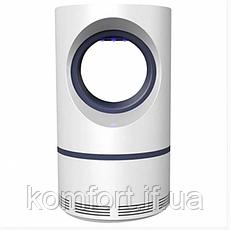 Знищувач комарів та комах Mosquito Killer лампа пастка від USB (W23), фото 2