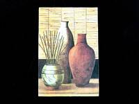 Бамбук / Картина 11x17x1 см