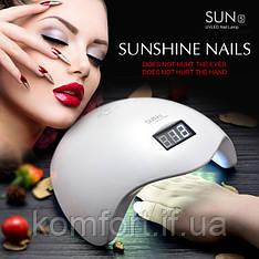Ультрафіолетова лампа для нарощування нігтів UV LED SUN 5 Nail Lamp