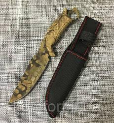 Охотничий нож Gerber c Чехлом XFB053 / АК-225 (26см)