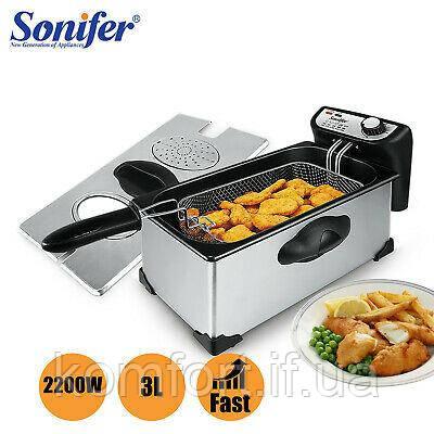 Фритюрниця електрична Sonifer N-1003