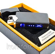 Сенсорна електроімпульсна USB запальничка ZGP 23