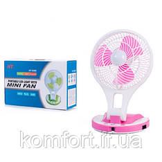 Акумуляторний вентилятор настільний HT-5580